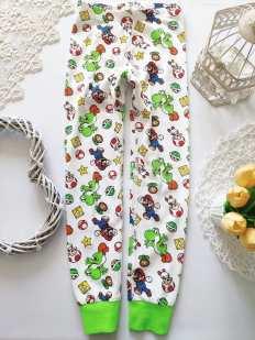 6-8 лет, рост 122-128 Детские пижамные штаны