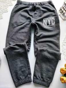 11,12 лет, рост 146,152 Теплые штаны на флисе