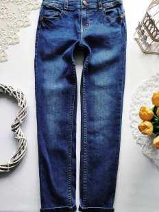8,9 лет, рост 134 Стрейчевые джинсы скинни для мальчика