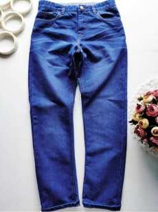 12 лет, рост 152 Голубые джинсы для мальчика