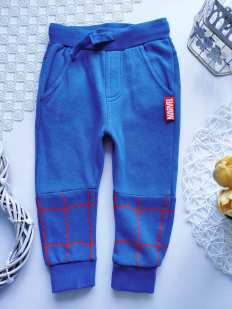 12\18 мес, рост 86 Теплые штаны на флисе