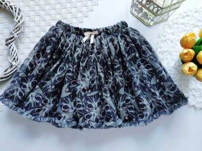 7,8 лет, рост 128,134 Фатиновая юбка в котах