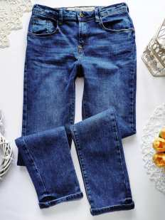 12\13 лет, рост 158 Стрейчевые джинсы для мальчика