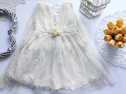 2,3 года, рост 92,98 Нарядное платье для девочки