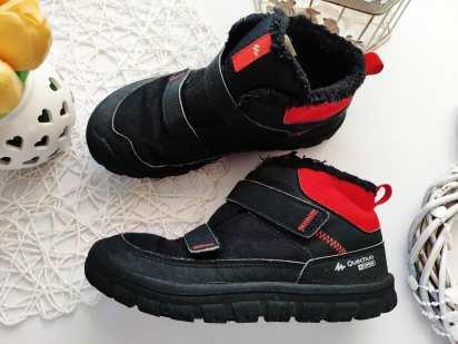 32 (20,5 см) Утепленные демисезонные ботинки для мальчика