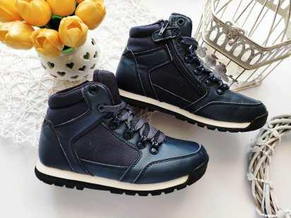 34 (21,5 см) Утепленные демисезонные ботинки для мальчика
