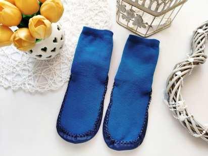 25-30 Новые махровые носки-тапки