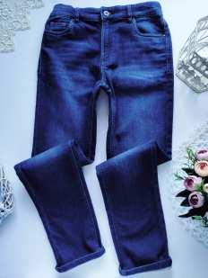 12 лет, рост 152 Мягкие джинсы для мальчика
