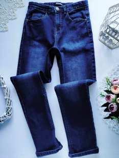 11-12 лет, рост 146-152 Стрейчевые джинсы для мальчика