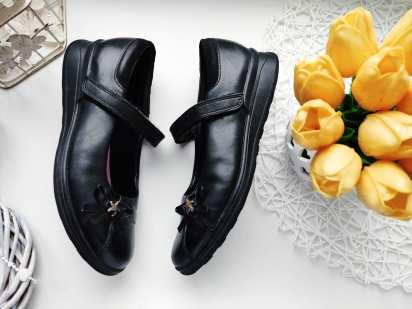 33 (21 см) Кожаные туфли для девочки