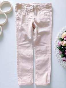 6 лет, рост 116 Пудровые джинсы