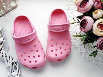 28 (18-19,5 см) Кроксы для девочки, оригинал
