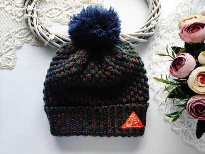 3,4 года Зимняя шапка для мальчика
