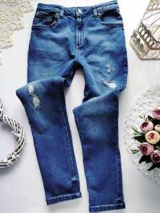 10 лет, рост 140 Крутые джинсы для девочки
