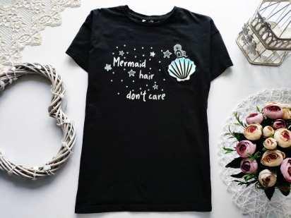 8,9 лет, рост 128,135 Новая футболка для девочки