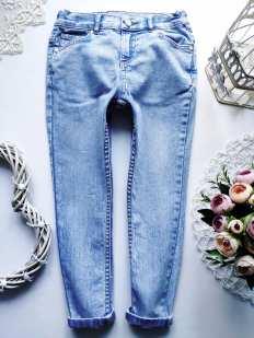 6,7 лет, рост 116,122 Стрейчевые джинсы узкачи