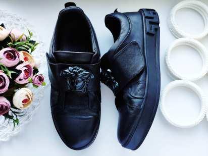 44 (29 см) Италия! Оригинал! Кожаные мужские туфли