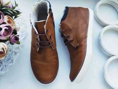 34 (22 см) Утепленные ботинки для мальчика