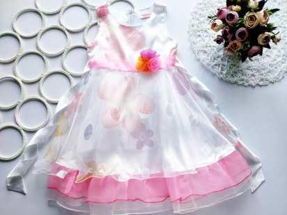 4,5 лет, рост 104,110 Нарядное детское платье