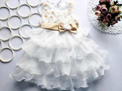 3,4 года, рост 104 Детское нарядное пышное платье