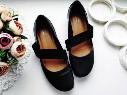 37 (24,3 см) Кожаные туфли