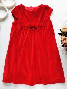 3,4 года, рост 104 Бархатное детское платье