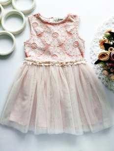 2,3 года, рост 98 Детское нарядное платье