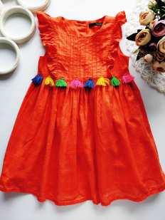 2,3 года, рост 92,98 Детское хлопковое платье