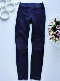 8-9 лет, рост 128-134 Стрейчевые штаны для девочки