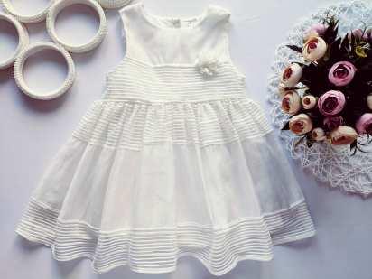 12\18 мес, рост 86 Нарядное детское платье