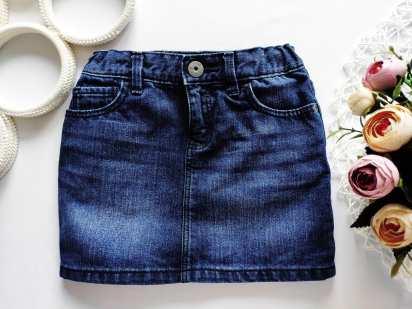 4 года, рост 104-110 Джинсовая юбка