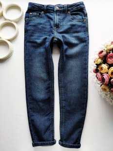 7,8 лет, рост 122,128 Мягкие джинсы скинни