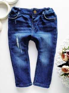 12,18 мес, рост 86 Мягкие джинсы для мальчика