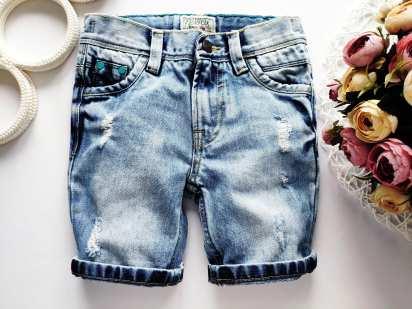 5 лет, рост 110 Джинсовые шорты для мальчика