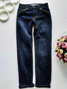 9 лет, рост 134 Стрейчевые джинсы для мальчика