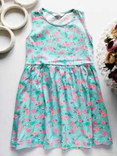 4,5 лет, рост 110 Летнее платье