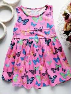 2,3 года, рост 98 Летнее детское платье