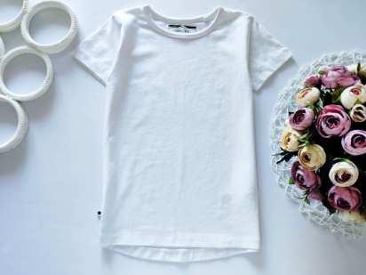 3,4 года, рост 104 Новая белая футболка