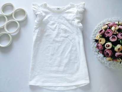 12,13 лет, рост 152,158 Белая футболка