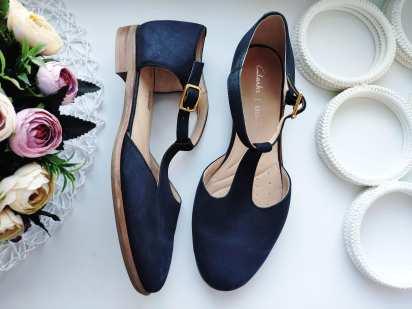38 (24,5 см) Кожаные женские туфли