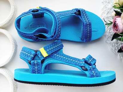 36-37 (24,5 см) Голубые сандали