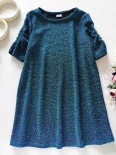 6 лет, рост 116 Новое иумрудное платье