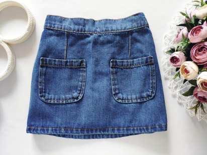 5,6 лет, рост 116 Джинсовая юбка