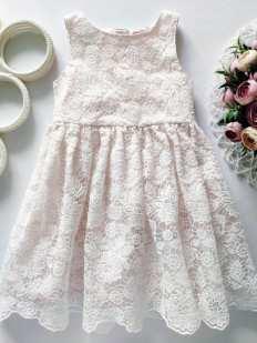 3,4 года, рост 104 Нарядное детское платье