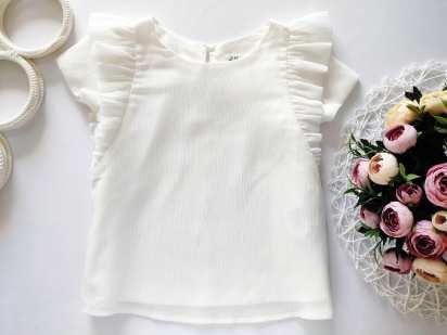 4,5 лет, рост 104,110 Блестящая блузочка