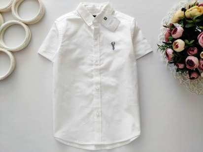 4 года, рост 104 Новая белая рубашка