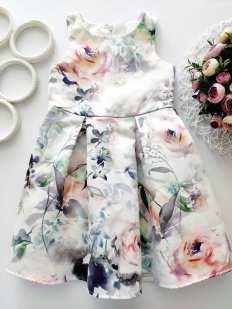 5 лет, рост 110 Нарядное платье