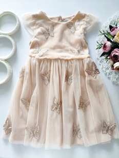 2,3 года, рост 98 Шикарное детское платье