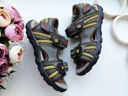 32 (21 см) Кожаные сандали
