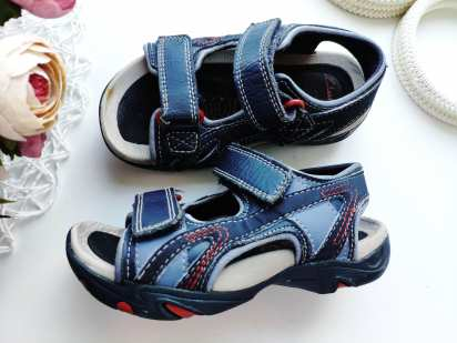 25 (16,5 см) Кожаные сандали